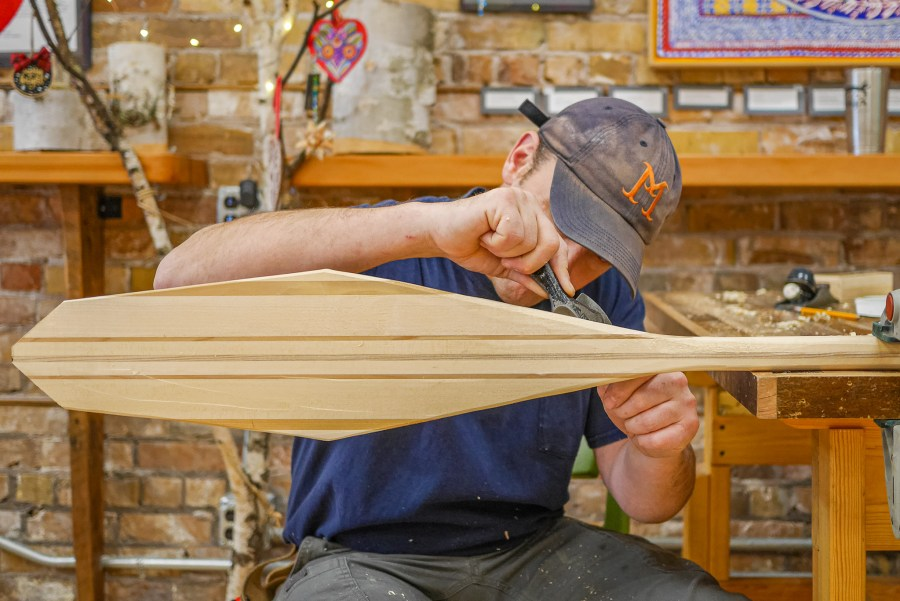 Make a Canoe Paddle at the Duluth Folk School