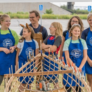 Canoe Building with Duluth Folk School