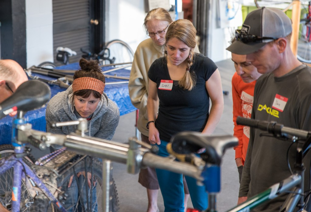 Beginner Bike Maintenance with the Duluth Folk School