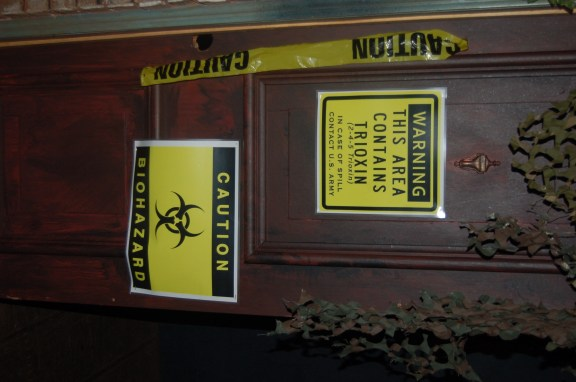 Alley Signage