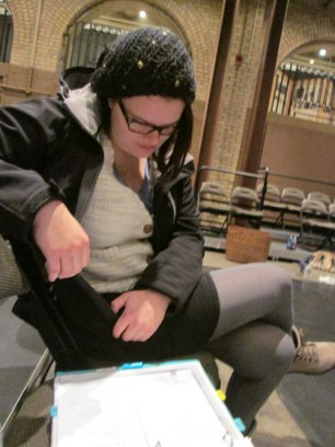 Stage Manager Michelle Ruszat