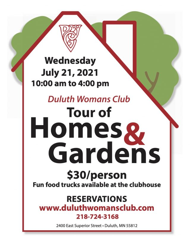 The Tour of Homes & Gardens is back! Click the photo to buy your tickets now!