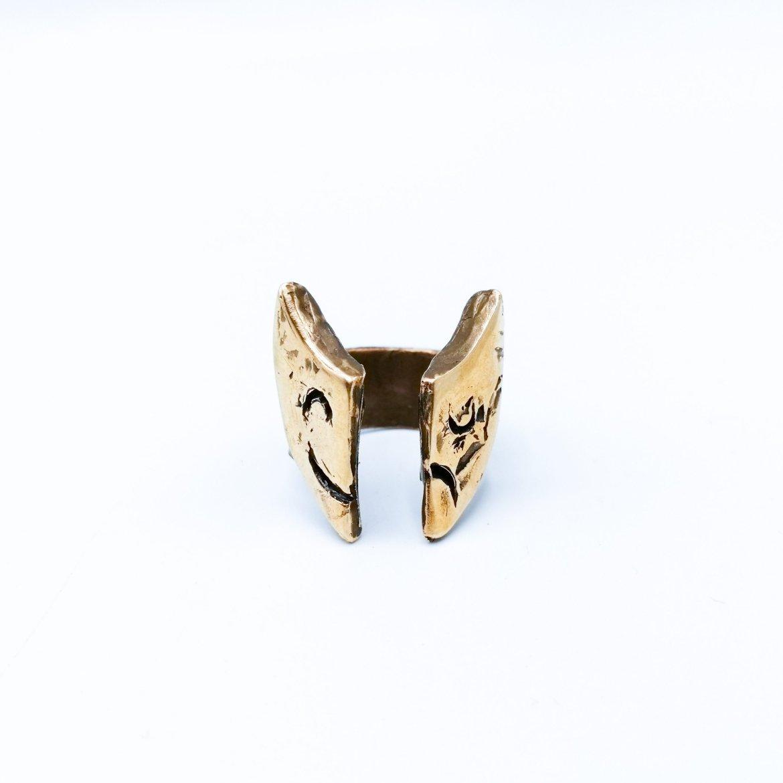 Gemini Ring - Bronze