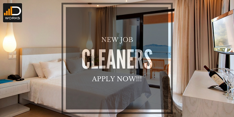 CLEANERS JOB