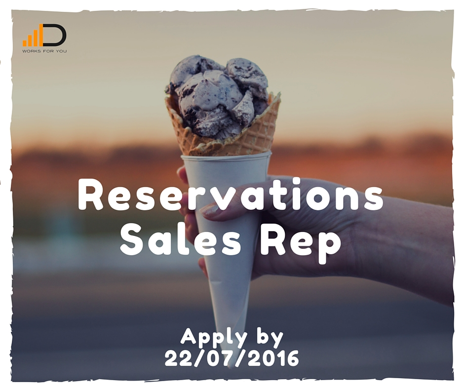 Reservations sales