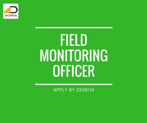 Field Officer job application