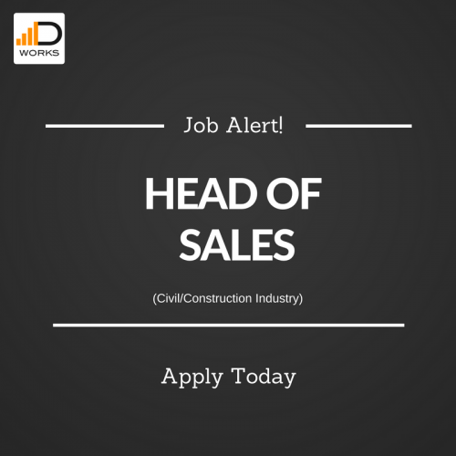 Head of Sales job opportunity.