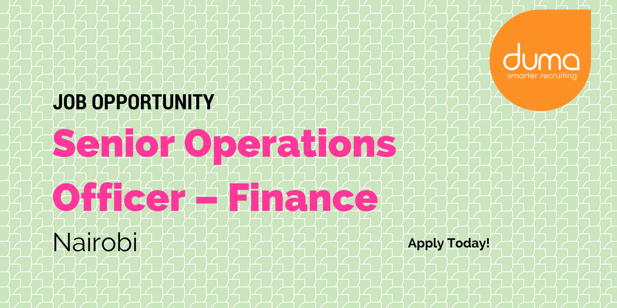Job vacancy - head of operations - finance for a fast growing social enterprise in the energy sector. Apply today to land your dream job
