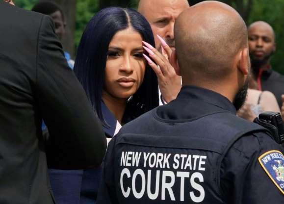 Cardi B Denies Strip Club Brawl Charges
