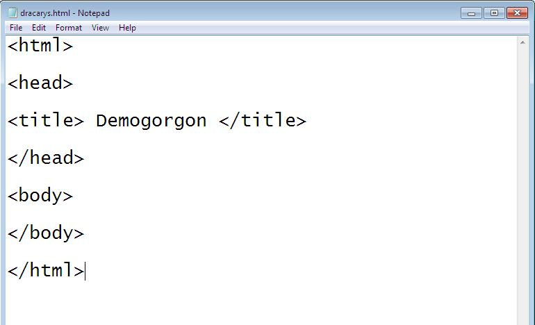 image of how to create a website with html