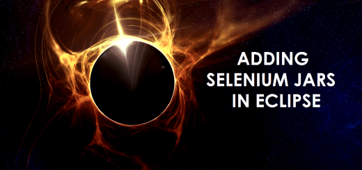 Adding Selenium Jars in Eclipse Image