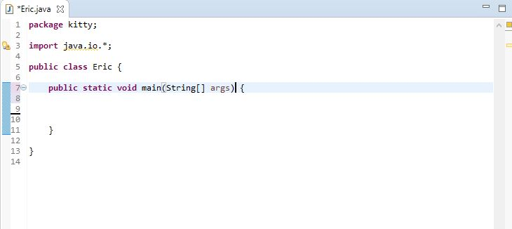 importing java.io.* for importing all input output classes