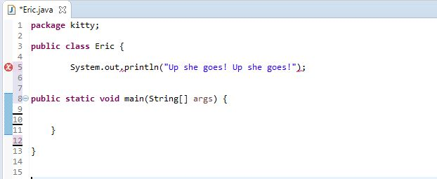pointless display of String understanding working of a class in Java