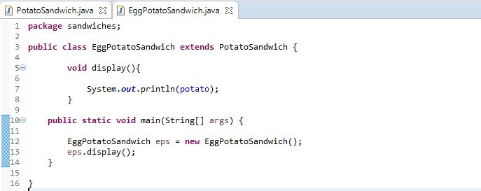 image of EggPotatoSandwich subclass