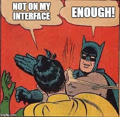 batman robin java interface meme