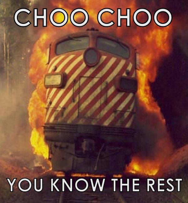 Choo choo train meme for stringbuffer class java