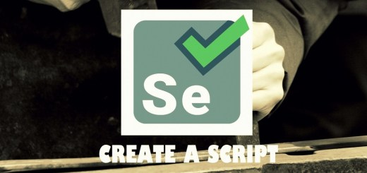 how to create a script manually using firebug in selenium ide image