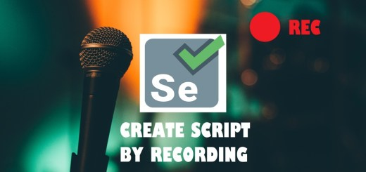 how to create a script using the recording feature in selenium ide wallpaper