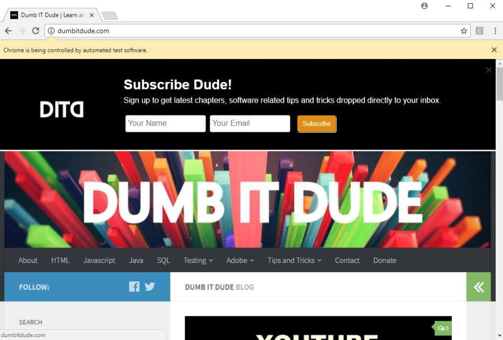 website opens nevertheless