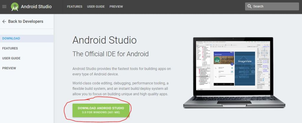 download android studio software how to install android studio ide