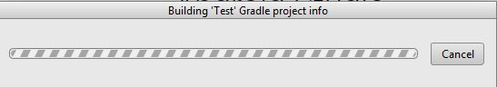 building test gradle info