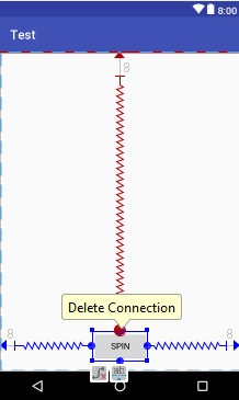 delete connection in android studio