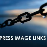 wordpress image links