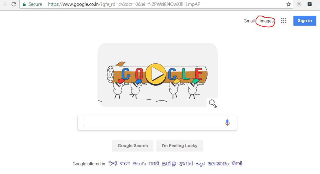images link of google