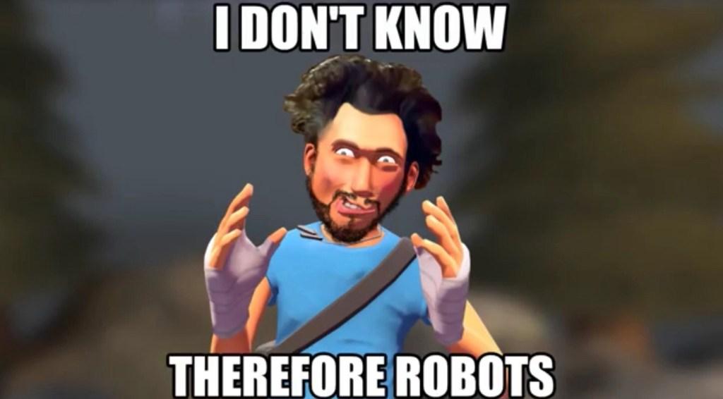 robots meme for auto ads