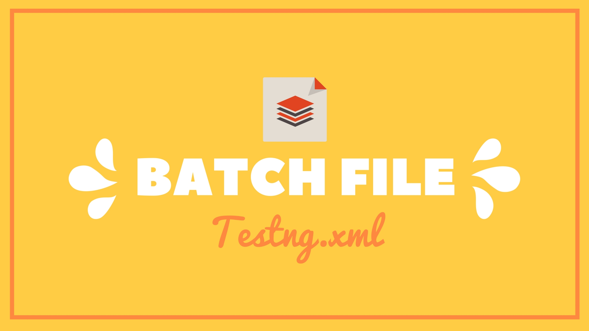 How to Create a Batch File to Run Testng xml | Dumb IT Dude