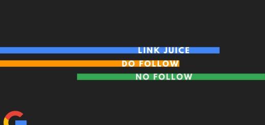 google link juicing nofollow dofollow