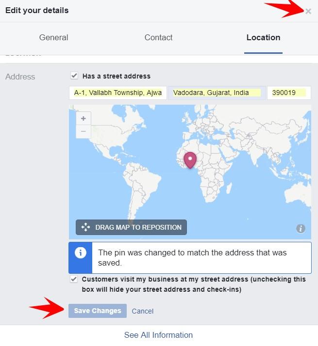 close details box