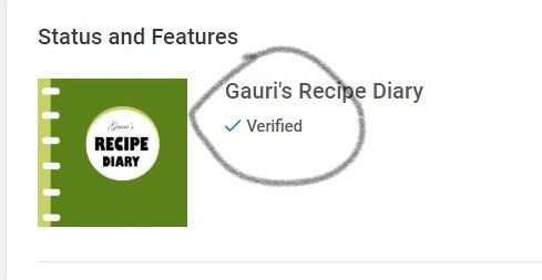 verified symbol on Youtube Channel