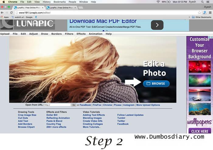 Lunapic gif photo editor1
