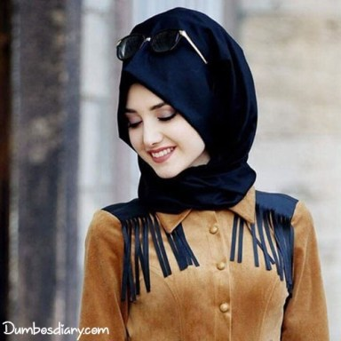 dp Muslim beautiful girls hijab smilie face