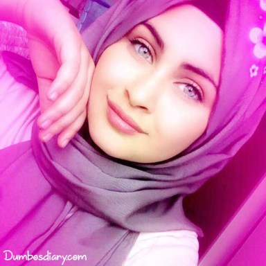 Muslim beautiful girls hijab dp4