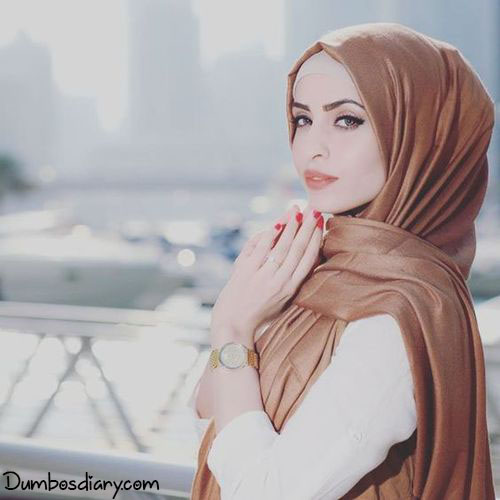 Muslim beautiful girls hijab dp for Whatsapp or Facebook