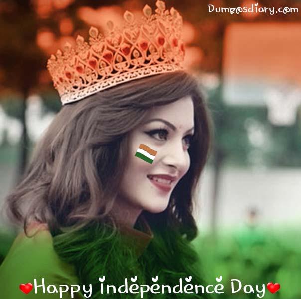 beautiful girl whatsapp dp republic day
