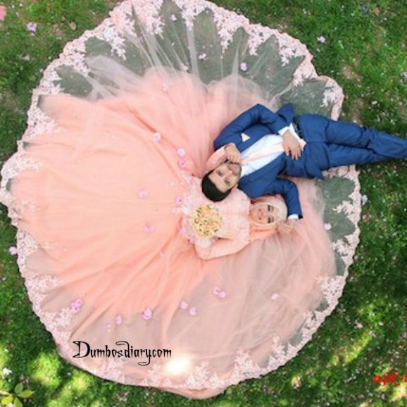 Love couple lying on grass