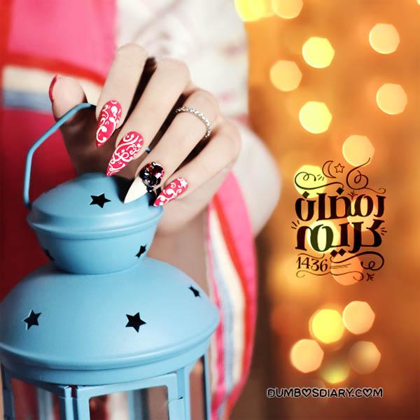 Beautiful Ramadan Image Of Girl Hand