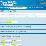 Long Tail Platinum - Pay Off Credit Card campaign settings - Dumb Passive Income