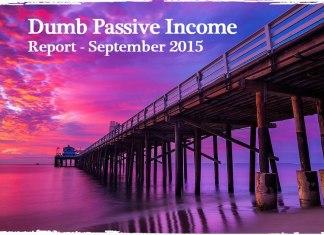 Passive Income Report - September 2015