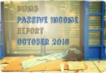passive income report October 2015