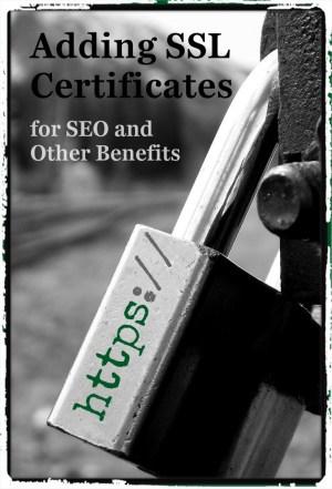 adding ssl certificates