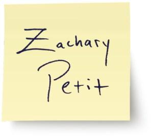 Zac Petit Website Designed by Jess Boonstra