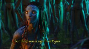 Avatar uses Papyrus created by Chris Costello