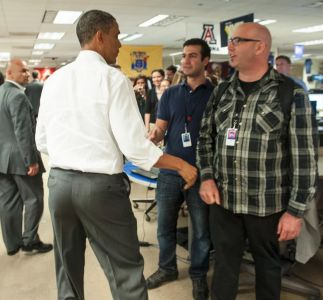 Some Guy Named Barack Psyches Out Josh Higgins