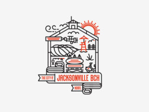 Jacksonville Beach Design by Kendrick Kidd