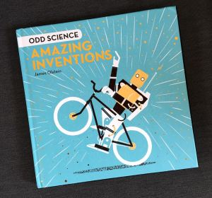 James Olstein's upcoming kids book, Amazing Inventions