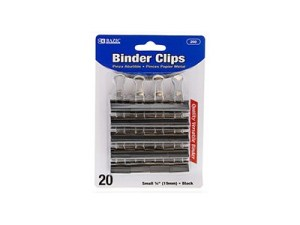 BINDER CLIPS BAZIC